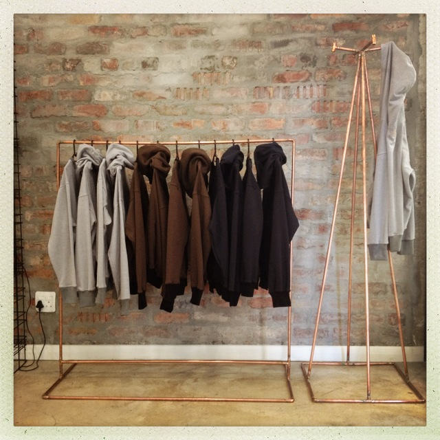 Copper clothing rails / House and Leisure