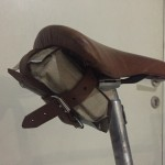 Falling Man Seattle saddle bag rear view