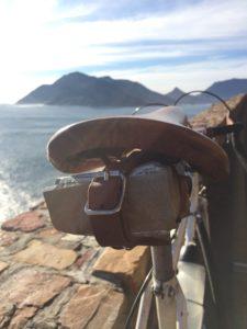 Seattle saddle bag with backdrop